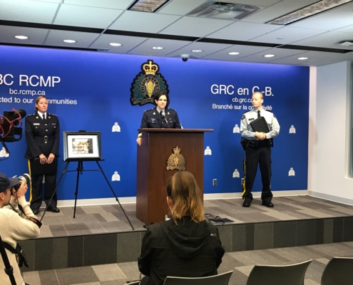 Surrey RCMP lays charges