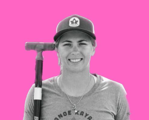 Sprint Canoer Katie Vincent