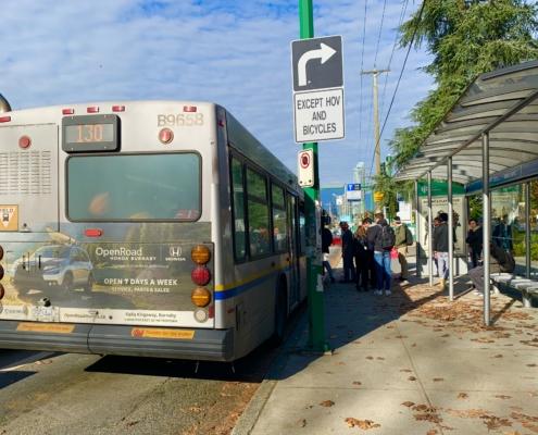 BCIT Bus Stop